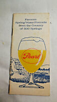 Pearl Brewing Co 12 Page Pocket Memo Book