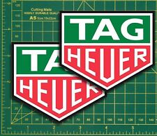 Tag Heuer racing formular1 Cafe Racer  Race & Rally Car Super Bike GP Stickers..