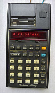Calculatrice Hewlett Packard HP 19C Calculator