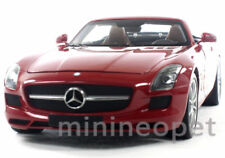 MINICHAMPS 100-039030 2011 11 MERCEDES BENZ SLS AMG ROADSTER 1/18 DIECAST RED