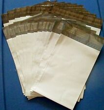 """20 White Poly Mailers (10) 6"""" x 9"""" & (10) 7.5"""" x 10.5"""" Shipping/Mailing Bags UPS"""