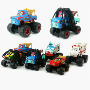 Disney Pixar Cars Toon Monster Truck Dr. Feel Bad,Tormentor,Rastacarian Diecast