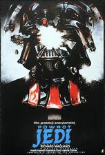 STAR WARS POSTER PAGE . 1984 RETURN OF THE JEDI POLISH FILM MOVIE POSTER . V52
