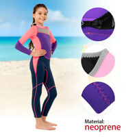 One-pieces Long Sleeves Kid Girl Wetsuit Diving Suit Warm for Snorkeling Surfing