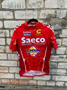 CANNONDALE SAECO TEAM RACE JERSEY shirt size M Cycling Bike Longoni