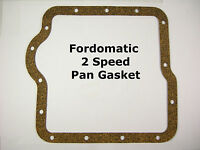 Fordomatic 2 Speed Natural Cork Pan Gasket 1959-64 Aluminum Case Two Speed Ford