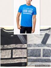 Tommy Hilfiger Flag Logo Tshirt. Grey Or Blue Mens Sz Small Tee Shirt