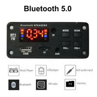 Audio Module MP3 Decoder Board Wireless Bluetooth 5.0 Color Screen FM Radio