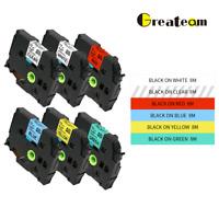 Multicolor TZe231 TZe131 TZe631 tze335 P-Touch Label Tape Compatible for Brother