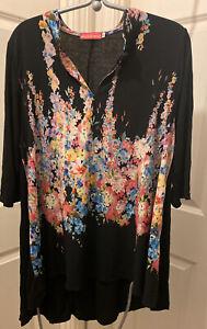 Butler & Wilson Flower Print Tunic M