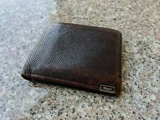 Salvatore Ferragamo Lizard Reptile Leather Men's Wallet