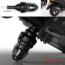 Black Motorcycle Frame Engine Protector Ground Crash Slider Cap Aluminum Alloy