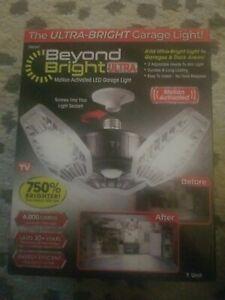 6000 Lumens 11.5 in. LED Flush Mount Garage Light Motion Activated