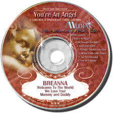 Personalized Lullaby CD - You're An Angel - Lullaby Songs With Your Child's Name