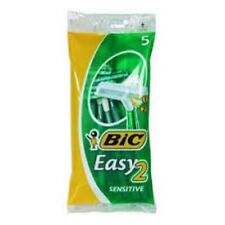 LOTTO 100 BIC 2 RASOIO TWIN EASY SENSITIVE LAMETTE USA E GETTA 3086127501061