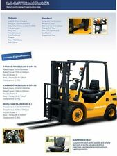 Propane (LPG) Cushion (Solid) Tire Forklifts