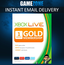 Xbox LIVE 1 Month Gold Membership For Microsoft Xbox One / Xbox 360 Worldwide