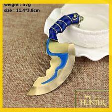 Dota2 Kelen's Blink Dagger Hunter Blade Model Keychain Key Ring Pendant Hot Sale