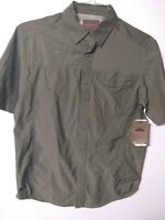 Men's Small Hunting, Hiking, Shirt Moisture Wicking Green Northwest Territory