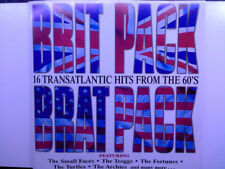 """""""Brit Pack Brat Pack""""-Small Faces-Troggs-Fortunes-Archies-Yardbirds-60's NEW CD"""