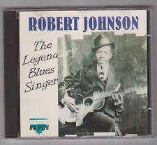 ROBERT JOHNSON  =  {CD - 12 TRACKS}  =  THE LEGENDARY BLUES SINGER  =
