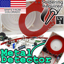 DIY Simple Metal Detector Experiment Kit [SOLDERING REQUIRED]