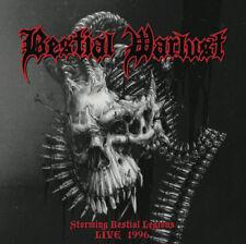 Bestial Warlust-storming bestial Legions Live 1996 + + LP + + NUOVO!!!