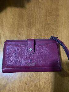 Kate Spade Black Zipper Wristlet Wallet