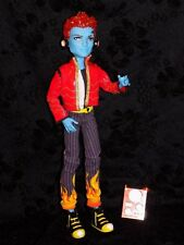 Monster High Holt Hyde First Wave with headphones and stereo backpack