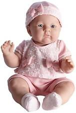 "JC Toys Lily 18"" in Light Pink Anatomically Correct Berenguer Baby Doll #18803"