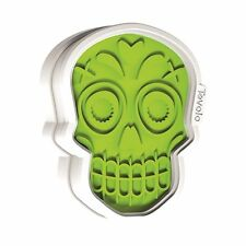 Tovolo Halloween Sugar Skull Cookie Cutter & Design Stamps
