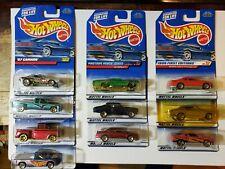 Hot Wheels Chevrolet Trucks Chevelle Monte Carlo Lot o 10 1:64 Scale Cast #81