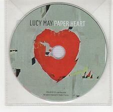 (GG782) Lucy May, Paper Heart - 2012 DJ CD