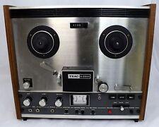 Vintage TEAC A2500 4Tk Reel to Reel Stereo Tape Deck + Accessories