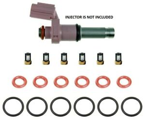 Fuel Injector Service Repair Kit Orings Filters for Lexus ISF IS350 GS350 GS450H