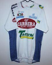 Carrera Jeans Tassoni cycling team jersey Nalini Size 7 1995
