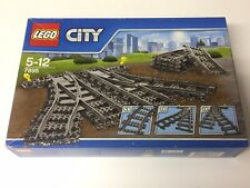 Lego City Train Switch Points & Curved Track Set 7895