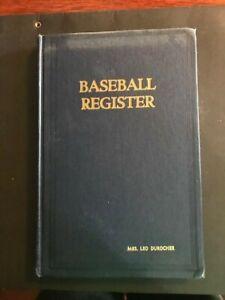1952 Sporting News Baseball Register, once owned by Mrs. Leo Durocher