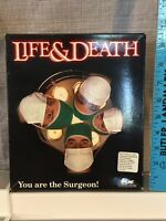 Vintage 1988 Life & Death PC Game Complete With Goves And Mask IBM Tandy