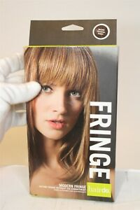 Hairdo Modern Fringe Instant Fringe With the Commitment Chocolate Copper NEW