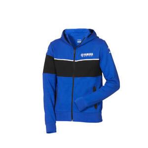 Official Yamaha Racing Paddock Blue Race Men's 'Cornwall' Hoodie Sweatshirt