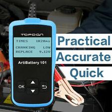 Car Battery Tester Automotive Battery Health Cranking Charging Diagnostic Tools