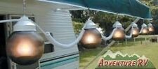 Bronze Globe Patio Awning Party Lights 6 Pack RV Camper Motorhome 16-32-17404