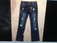 Versace1969 Women Jeans Abbigliamento Sportivo Sofia Bootleg Bella Size 28