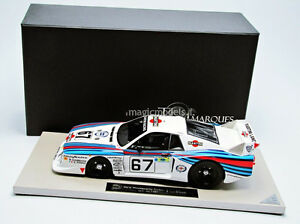TOP MARQUES Lancia Beta Montecarlo Turbo Le Mans 1981 #67 1/18 New! Rare!