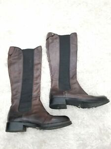 🌺Vince Camuto Kent Women's Dark Brown Ombré Leather Tall Knee High Boots 6B/36