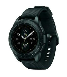 Open Box Samsung Galaxy Watch SM-R815U 42mm Midnight 4G LTE Unlocked - Black