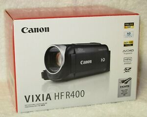 Canon VIXIA HF R400 High Definition Camcorder - New Never Used
