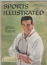 September 7, 1959 Sports Illustrated Magazine Alex Olmedo on Cover