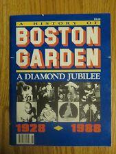 60th BOSTON GARDEN 1928-1988 Program ORR BIRD HAGLER PRESLEY KENNEDY AUTRY